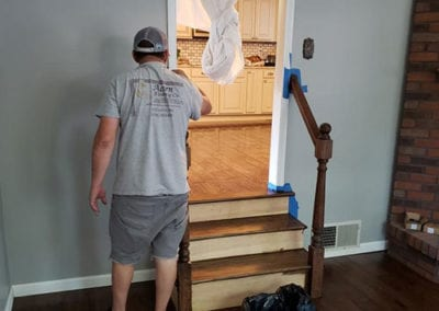 staircasing refinishing in southern illinois