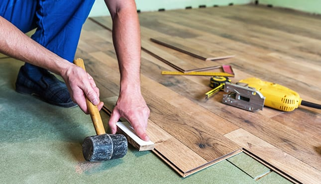 custom design floor evansville in