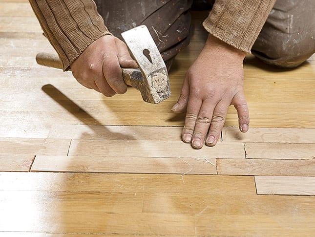 hardwood repairs evansville in