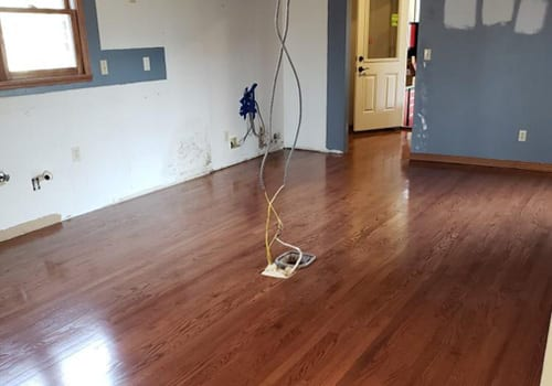 Variety of Finishes for Hardwood in Evansville Indiana