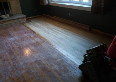Sanding Floor for Smooth Finish in Southern IL